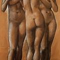 The Three Graces by BurneJones Edward