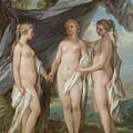 The Three Graces by Charles-Amedee-Philippe van Loo