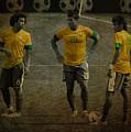 The Three Kings Marcelo Hulk Neymar Os Tres Reis  by Lee Dos Santos