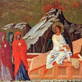 The Three Marys At The Tomb 1311 by Duccio