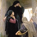 The Three Marys At The Tomb by William Bouguereau