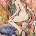 The Toilet by Edgar Degas