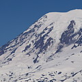 The Top Of Mount Rainier by LKB Art and Photography