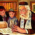 The Torah Scribe by Carole Spandau