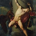 The Torture Of Prometheus by Jean-Louis-Cesar Lair