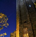 The Tower At Night by Kenny Brachle
