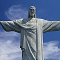 The Towering Statue Of Christ by Richard Nowitz