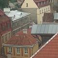 The Towers Of Old Tallinn Estonia by Rauno  Joks
