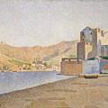 The Town Beach Collioure Opus 165 Collioure La Plage De La Ville Opus 165 by Paul Signac