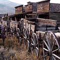 The Town Of Cody Wyoming by Dave Sribnik