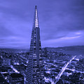 The Transamerica Pyramid At Sunset by Mountain Dreams
