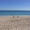 The Treasure Coast At Vero Beach In Florida by Allan  Hughes