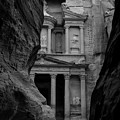 The Treasury - Petra by Peter Dorrell
