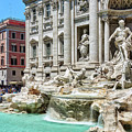 The Trevi Fountain In The City Of Rome by Eduardo Jose Accorinti