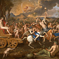 The Triumph Of Bacchus by Nicolas Poussin