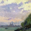 The Trocadero by Albert Charles Lebourg