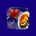 The Trombone Jazz 002 by M K  Miller