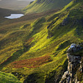 The Trotternish Hills From The Quiraing Isle Of Skye by John McKinlay