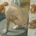 The Tub by Edgar Degas