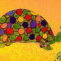 The Turtle In Lighter Colors by Debra Lynch