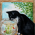 The Tuxedo Cat And The Fish Bowl by Elizabeth Robinette Tyndall
