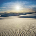 The Unique And Beautiful White Sands National Monument In New Me by Jamie Pham
