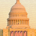 The United States Capitol by Julie Niemela