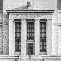 The United States Federal Reserve Bw by Susan Candelario