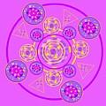 The Universal Spin Of Violet by Joan Ellen Gandy
