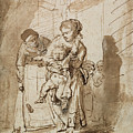 The Unruly Child by Rembrandt