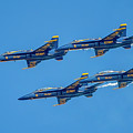 The Usn Blue Angels by Larry Hinson