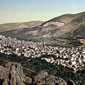 The Vale Of Nablus by Munir Alawi