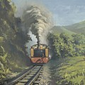 The Vale Of Rheidol Railway by Richard Picton