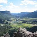 The Valley Below by CGHepburn Scenic Photos