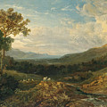 The Valley Of The Clyde by Anthony Vandyke Copley Fielding
