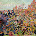 The Valley Of The Sedelle In Crozant by Jean Baptiste Armand Guillaumin
