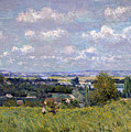 The Valley Of The Seine At Saint Cloud by Alfred Sisley
