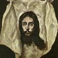 The Veil Of Saint Veronica by El Greco