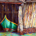 The Venetian Boathouse by Winona Steunenberg