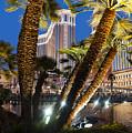 The Venetian Hotel And Casino Las Vegas by Ken Howard