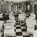 The Verandah Cafe Of The Titanic by Photo Researchers
