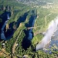 The Vic Falls Gorge by Nhlanhla