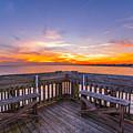 The View Folly Beach Sc by Donnie Whitaker