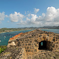 The View From Fort Rodney On Pigeon Island Gros Islet Caribbean by Toby McGuire