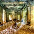 The Villa Of The Boat In The Antique Salon - La Villa Della Barca Nell'antico Salone by Enrico Pelos