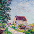 The Village Of Sablons by Alfred Sisley