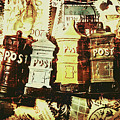 The Vintage Postage Card by Jorgo Photography - Wall Art Gallery