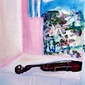 The Violin by Michela Akers