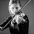 The Violinist by Keith Morris