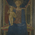 The Virgin And Child Enthroned by PixBreak Art